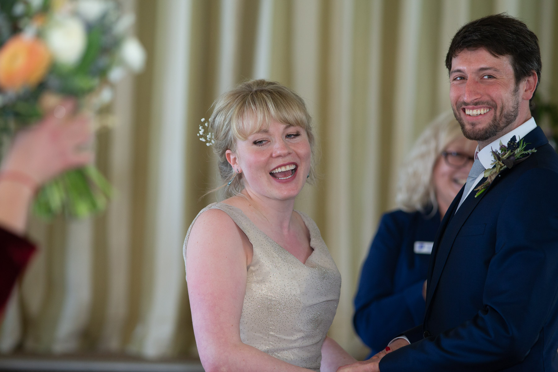 Colourful and relaxed Wedding