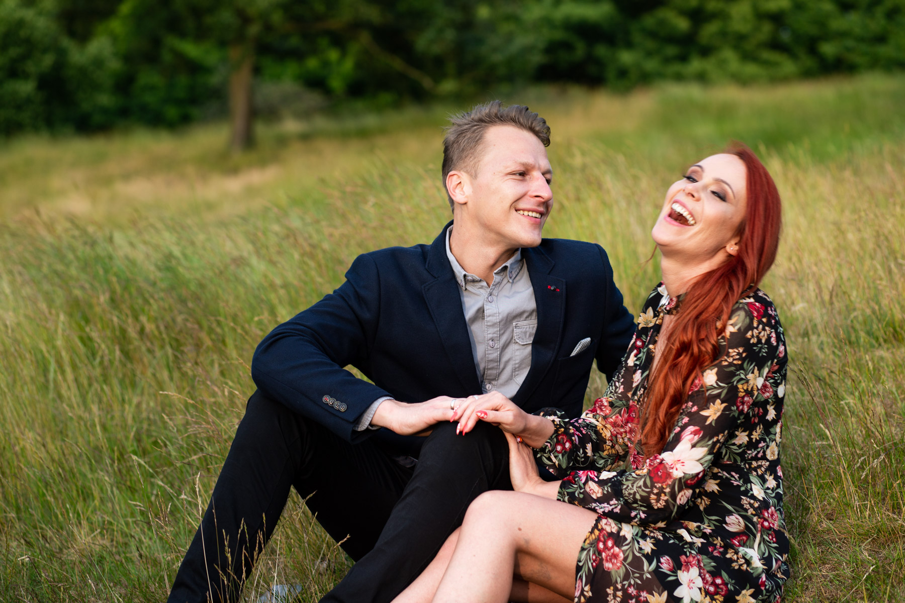 Greenwich Park engagement shoot in London