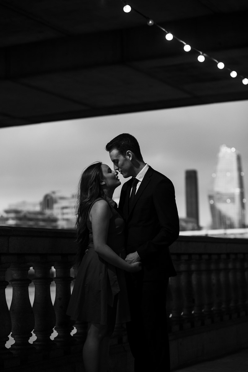 Creative and relaxed couple
