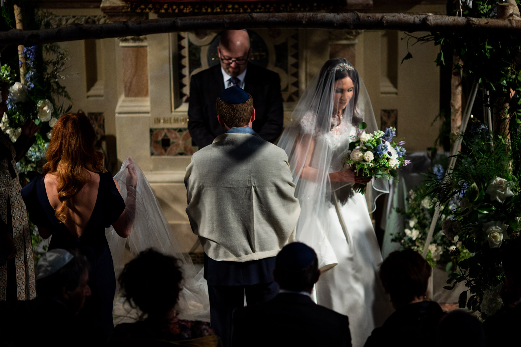 West London Synagogue wedding ceremony in London