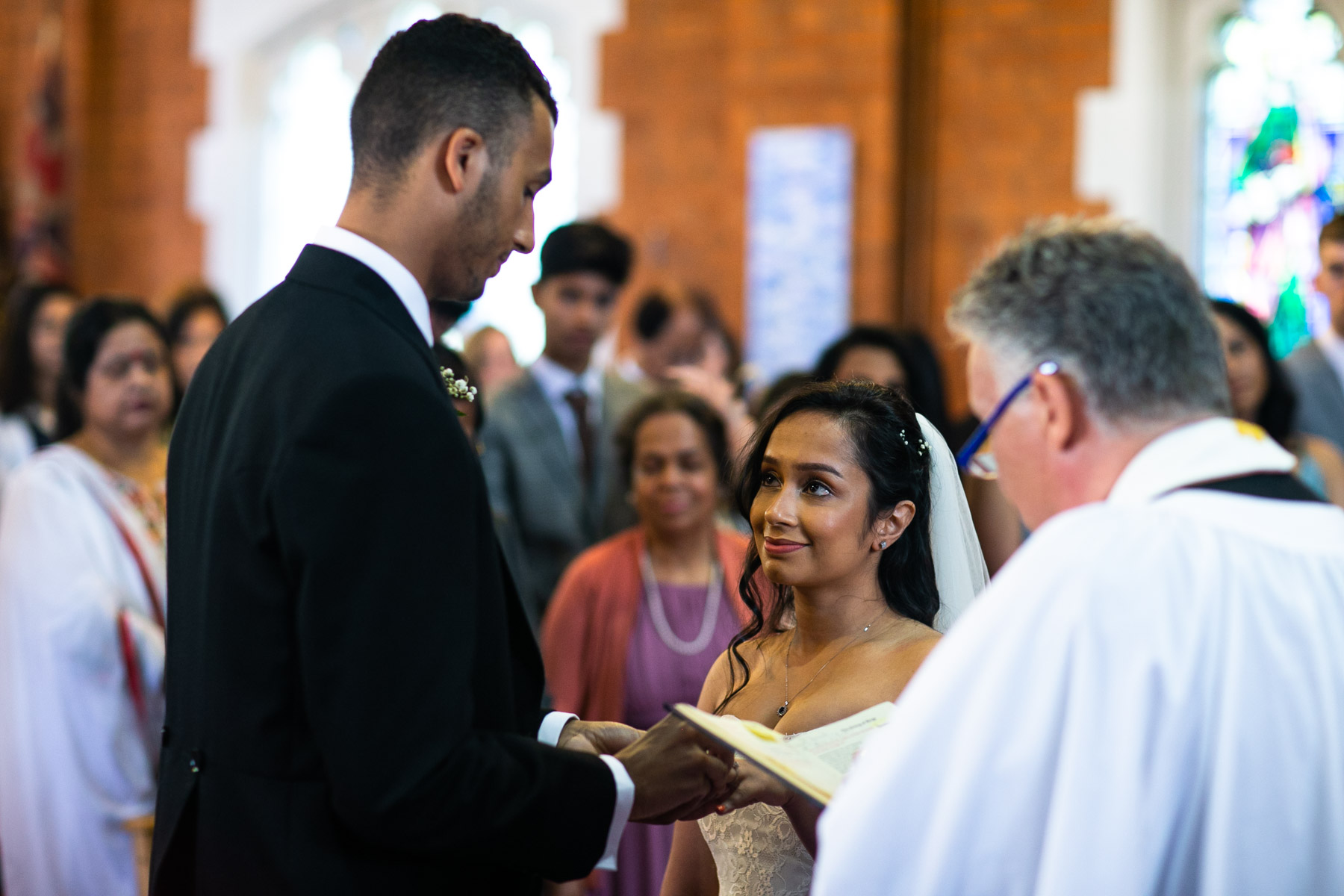 Stunning and relaxed bride and groom